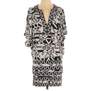 BCBGMAXAZRIA Casual Dress Kaftan Sleeves Size XXS